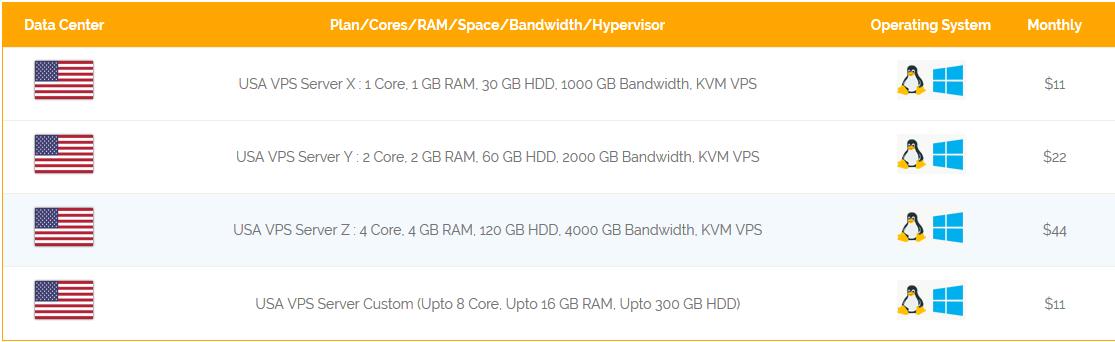 USA VPS Server - Onlive Server