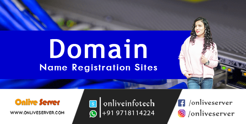 Domain Name Registration Site