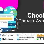 To Check Domain Availability-